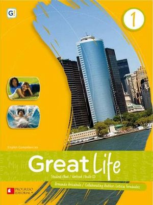 GREAT LIFE 1 BACH.-NVA PRES.- (SB/WB/CD) S.PIADA/ENGLISH CO
