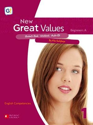 NEW GREAT VALUES 1 (NVA. EDICION) -BEGINNERS A- (PIADA/COMP