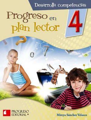 PROGRESO EN PLAN LECTOR 4 PRIM