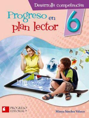 PROGRESO EN PLAN LECTOR 6 PRIM