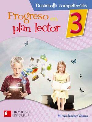 PROGRESO EN PLAN LECTOR 3 PRIM