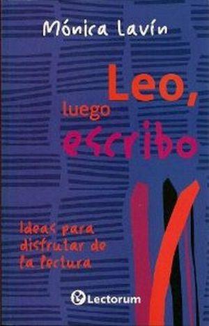 LEO, LUEGO ESCRIBO -NVA PRESENTACION-