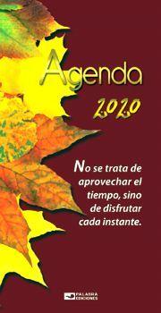AGENDA BOLSILLO 2020 (ENGARGOLADA)