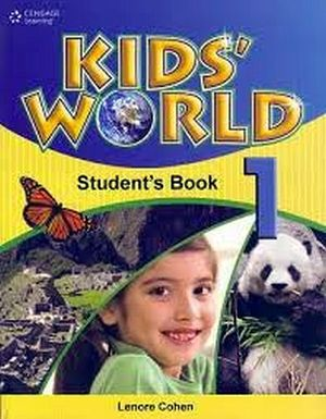 KID'S WORLD 1 STUDENT'S BOOK