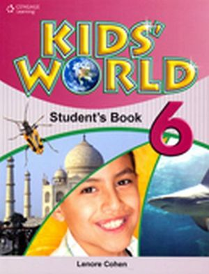 KID'S WORLD 6 STUDENT´S BOOK