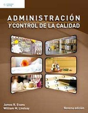ADMINISTRACION Y CONTROL DE LA CALIDAD 9ED.