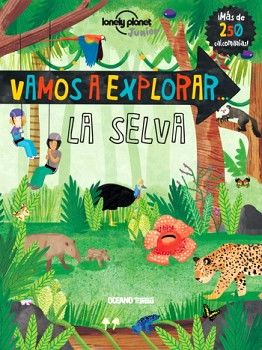 VAMOS A EXPLORAR -LA SELVA-               (C/CALCOMANIAS)