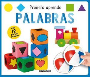 PRIMERO APRENDO -PALABRAS-                (C/12 PIEZAS SUELTAS)