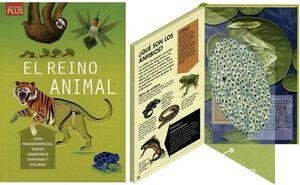 REINO ANIMAL,EL (CON TRANSPARENCIAS, DISCOS GIRATORIOS VENTANS.)