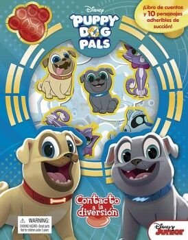 CONTACTO A LA DIVERSION -PUPPY DOG PALS- DISNEY