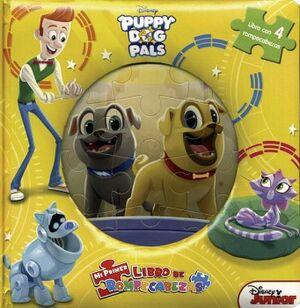 MI PRIMER LIBRO DE ROMPECABEZAS -PUPPY DOG PALS- DISNEY