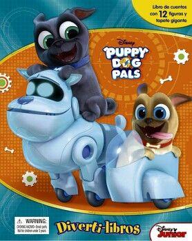 DIVERTILIBROS -PUPPY DOG PALS- DISNEY
