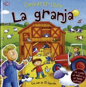 CONVERTI-LIBROS -LA GRANJA- (C/MAS DE 20 FIGURITAS)