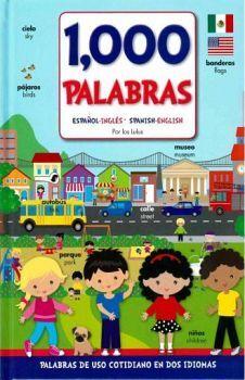 1000 PALABRAS -ESPAÑOL/INGLES- (EMPASTADO/BILINGUE)