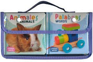 PAQUETE APRENDO INGLES (C/2 LIBROS ANIMALES/PALABRAS)