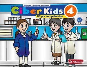 CIBER KIDS 4 PRIM. (ED.2018)     -TICS POR COMPETENCIAS-