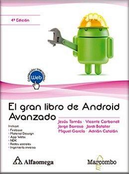 GRAN LIBRO DE ANDROID AVANZADO, EL 4ED.