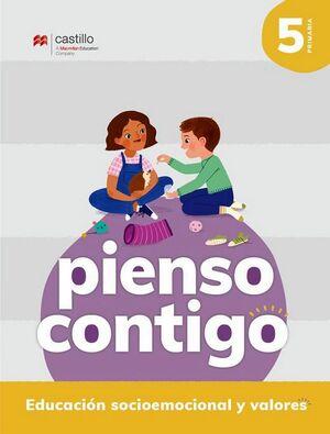 PIENSO CONTIGO 5 PRIM. -EDUCACION SOCIOEMOCIONAL Y VALORES-