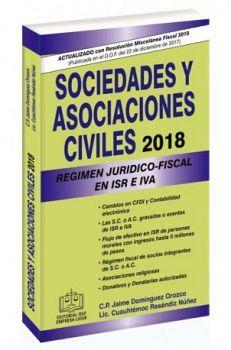 SOCIEDADES Y ASOCIACIONES CIVILES 2018