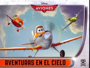 AVIONES -AVENTURAS EN EL CIELO-     (4 LIBROS)