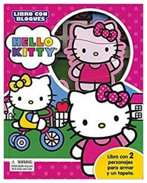 HELLO KITTY -LIBRO CON BLOQUES- (LIBRO C/2 PERSONAJES P/ARMAR)