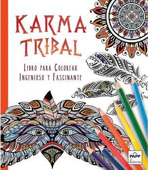 KARMA TRIBAL (LIBRO P/COLOREAR)