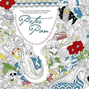 PETER PAN (LIBRO P/COLOREAR C/POSTER)