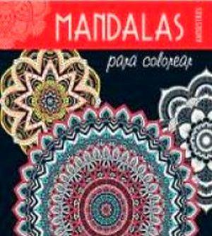 MANDALAS PARA COLOREAR -ANTIESTRES- (ROJO)