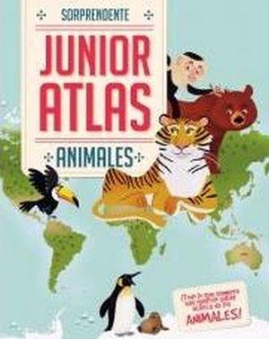 SORPRENDENTE ATLAS JUNIOR -ANIMALES-