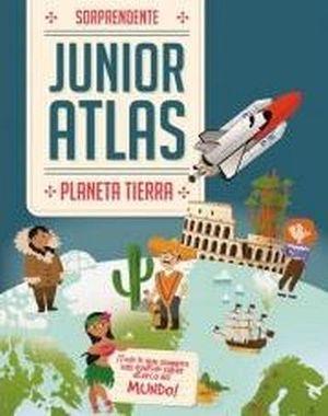 SORPRENDENTE ATLAS JUNIOR -PLANETA TIERRA-