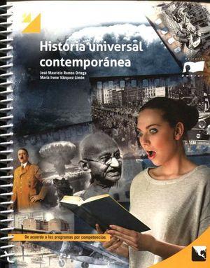 HISTORIA UNIVERSAL CONTEMPORANEA (BACH. POR COMPETENCIAS/ESPIRAL)