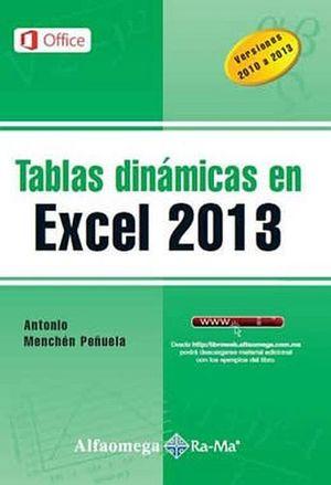 TABLAS DINAMICAS EN EXCEL 2013