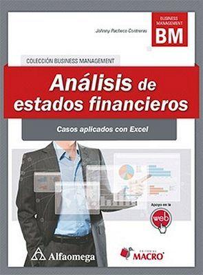 ANALISIS DE ESTADOS FINANCIEROS -CASOS APLICADOS CON EXCEL-