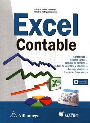 EXCEL CONTABLE (C/DVD)