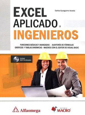 EXCEL APLICADO A INGENIEROS (C/DVD)