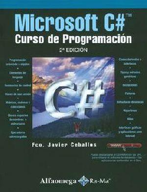 MICROSOFT C# -CURSO DE PROGRAMACION- 2ED.