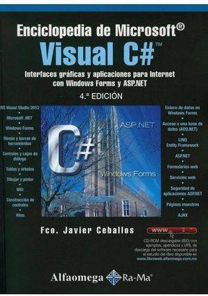 ENCICLOPEDIA DE MICROSOFT VISUAL C# 4ED.