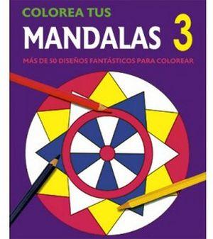 COLOREA TUS MANDALAS 3  (MORADO)