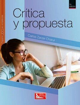 CRITICA Y PROPUESTA 2ED. (UDG/COMPETENCIAS)