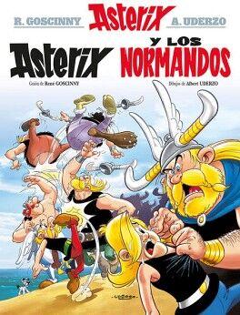 ASTERIX Y LOS NORMANDOS N.9