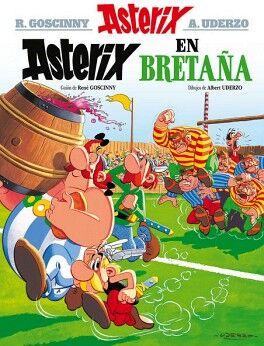 ASTERIX -ASTERIX EN BRETAÑA- N.8