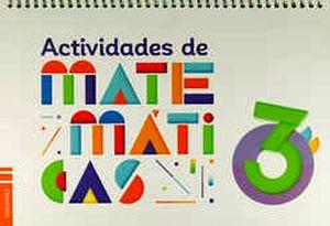 ACTIVIDADES DE MATEMATICAS 3RO. PREESC.
