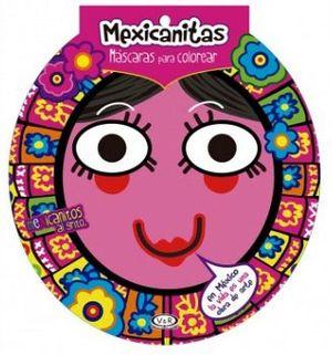 MEXICANITAS -MASCARAS P/COLOREAR-