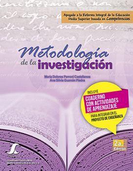 METODOLOGIA DE LA INVESTIGACION 2ED. SC -COMPETENCIAS- (C/C