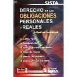DERECHO DE LAS OBLIGACIONES PERSONALES Y REALES