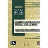 DERECHO PROCESAL PENAL APLICADO -CON JUICIO ORAL, DERECHOS- 2ED.