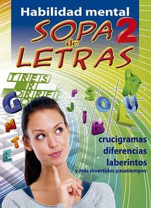 HABILIDAD MENTAL -SOPA DE LETRAS 2-