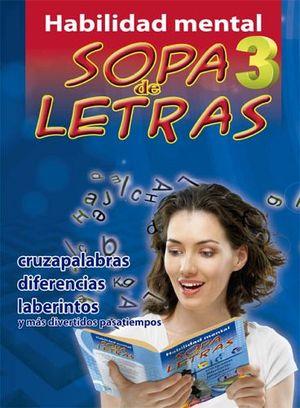HABILIDAD MENTAL -SOPA DE LETRAS 3-