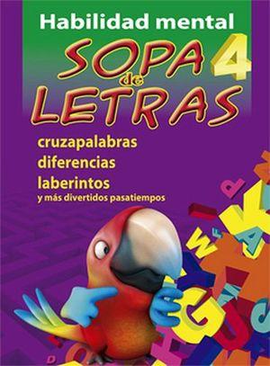 HABILIDAD MENTAL -SOPA DE LETRAS 4-