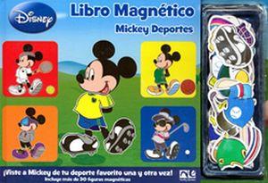 LIBRO MAGNETICO MICKEY DEPORTES            KT-879